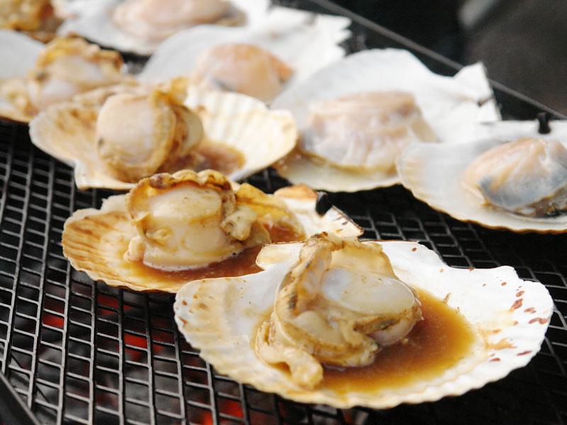 焼きホタテ(バター醤油)