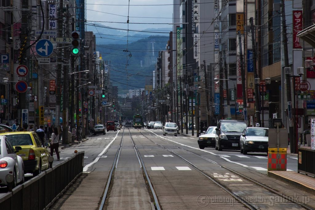 市電でのんびり!札幌中心部をぐるっと1周の旅