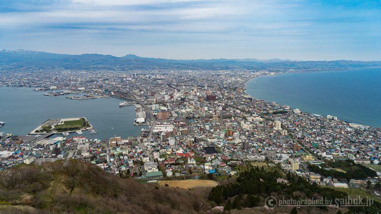 異国情緒と歴史のあるベイエリアから函館山まで