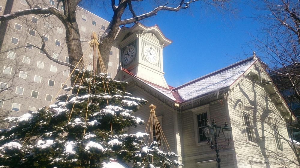 電車でGO!札幌駅から徒歩10分。冬の観光オススメ「さっぽろ時計台」編