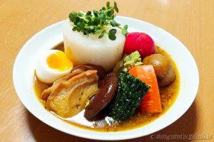北海道saihokまるごとチキンスープカレーの食べ方・レシピ