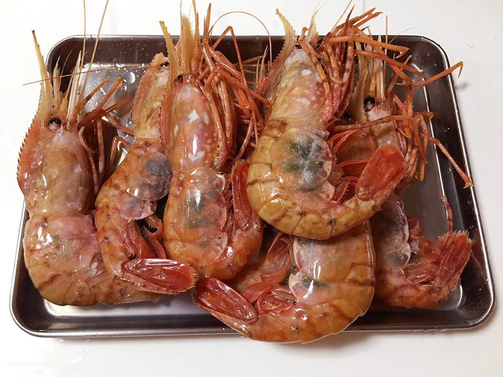 ボタン海老を美味しくお召し上がりいただくために(解凍・食べ方レシピ)