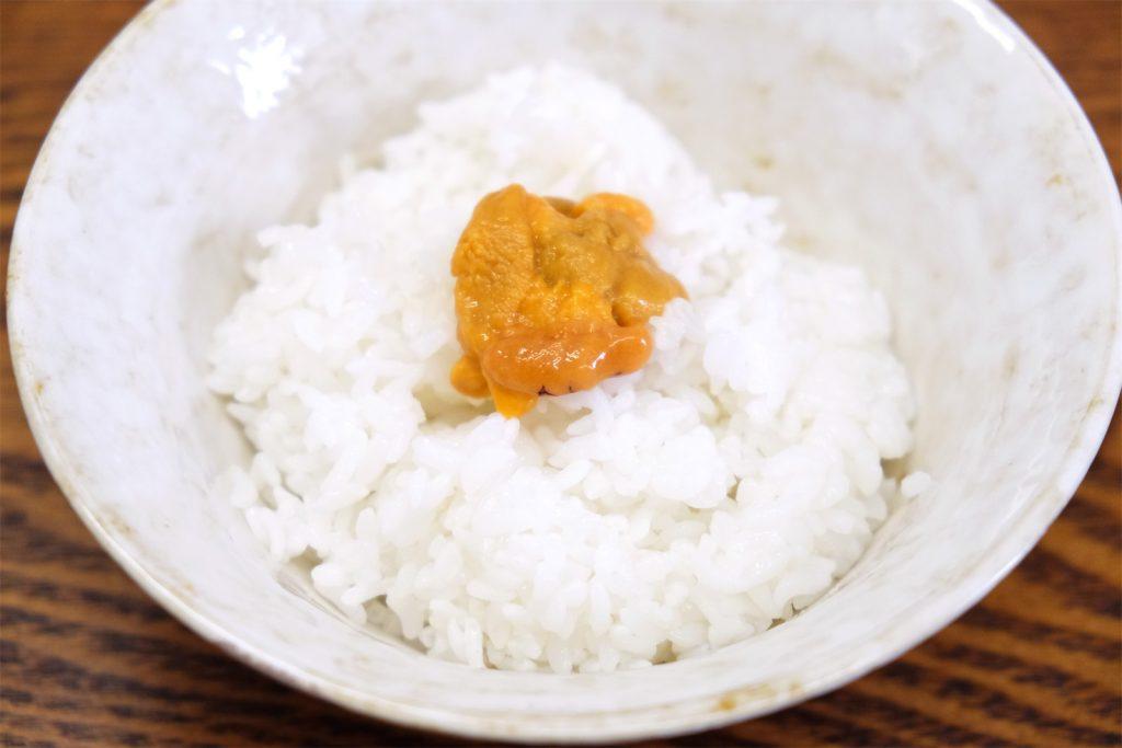 ウニ 食べ 方 塩水